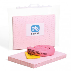 PIG® 15 L Chemical Spill Kit in a Clip-Close Bag