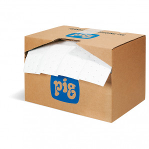 PIG® Rip-&-Fit® Oil-Only Mat Rolls - Heavy Weight