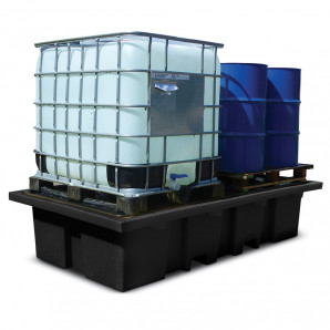 PIG® Twin Poly IBC Containment Unit