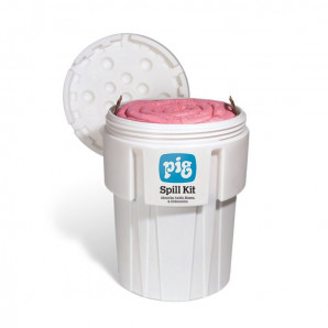 PIG® HAZ-MAT Spill Kits in a 360-Litre Overpack Drum