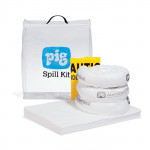 PIG Spill Kits in a See-Thru Bag